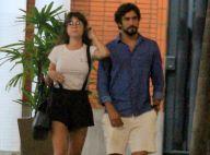 Thaila Ayala adota franja e exibe novo visual em passeio com Renato Goés. Fotos!