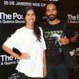 Bela Gil e o marido, João Paulo Demasi, na pré-estreia do filme 'The Post'