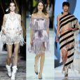 6) Franjas: de produções mais delicadas – como os looks de Zuhair Muhad e Ralph & Russo – ao conceitual de Jean-Paul Gaultier, as franjas mostraram que têm seu lugar garantido na temporada de Haute Couture