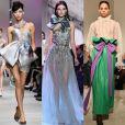 4) Laços: os laçarotes foram destaque do evento fashion e estiveram presentes nas produções das grifes Giorgio Armani, Elie Saab e Valentino