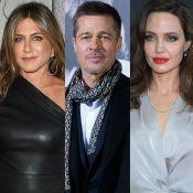 Angelina Jolie se irrita com encontro de Jennifer Aniston com Brad Pitt e filhos