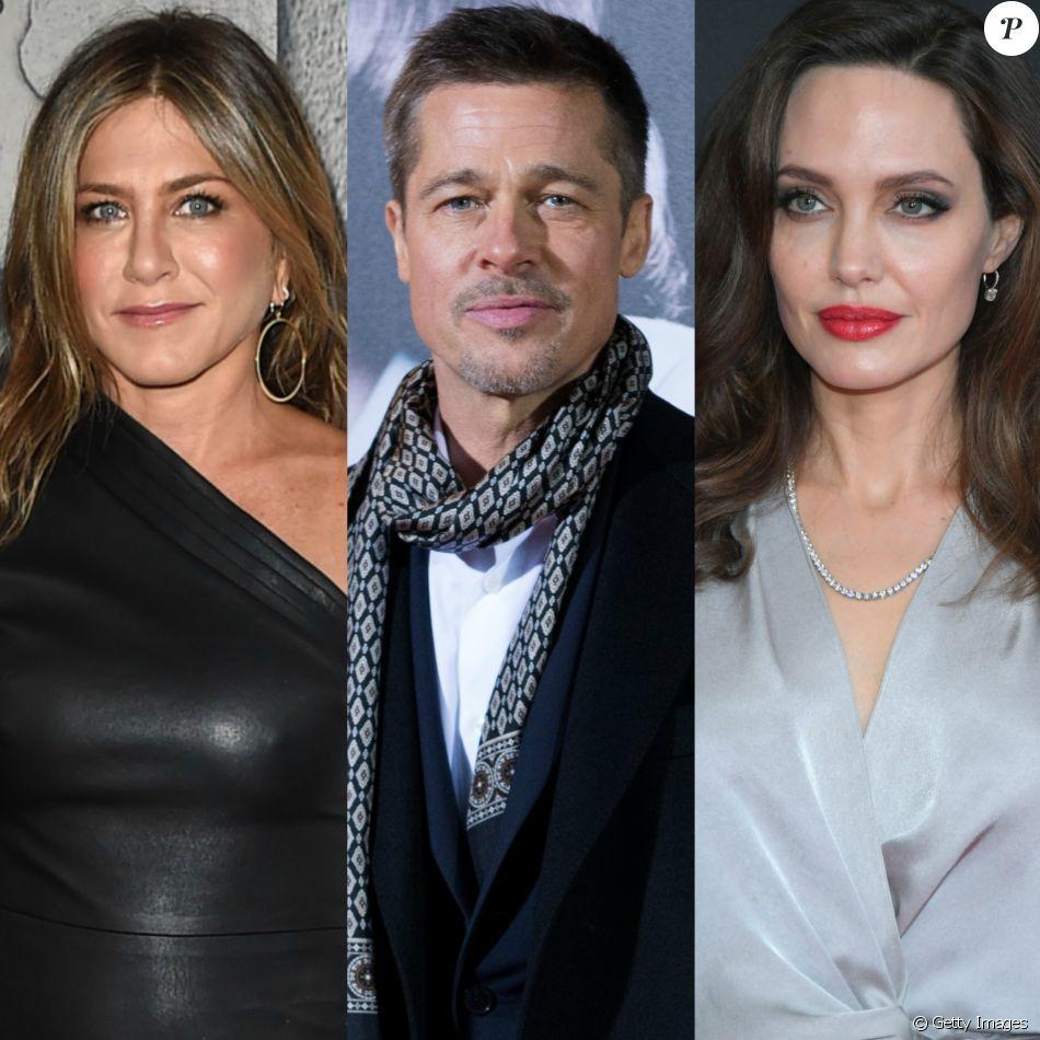 Angelina Jolie ficou 'furiosa' por Jennifer Aniston encontrar os filhos em uma visita à casa de Brad Pitt