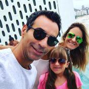 Ticiane Pinheiro homenageia Cesar Tralli por estreia no 'JN':'Brilhe muito hoje'