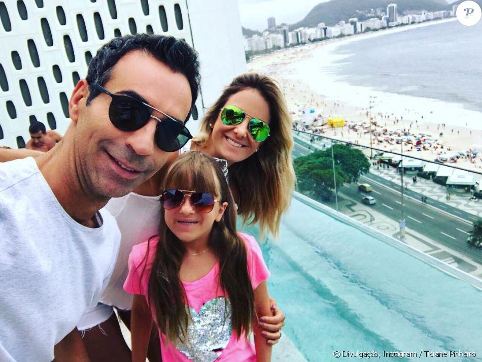 Ticiane Pinheiro homenageou o marido, Cesar Tralli, por estreia no 'Jornal Nacional' neste sábado, dua 27 de janeiro de 2018