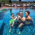 Kelly Key está em Portugal com a família