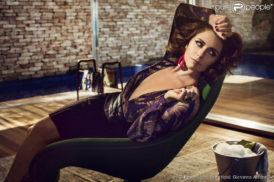 37be799f2 Giovanna Antonelli afirmou que não teria problema para gravar o beijo gay  para a novela