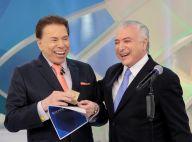 Michel Temer dá R$ 50 a Silvio Santos após entrevista: 'Um dinheiro para você!'