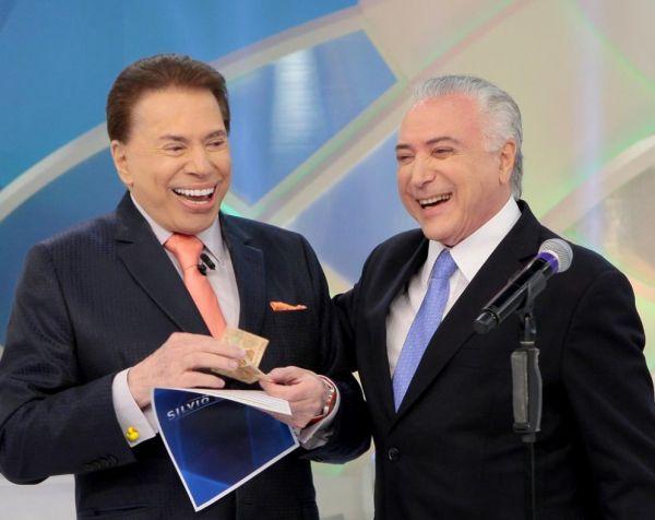 Silvio Santos ganhou R$ 50 de Michel Temer, no programa deste domingo, 28 de janeiro de 2018: 'Vou passar um dinheiro para você!'