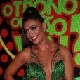 Juliana Paes volta a ser rainha de bateria após 10 anos. Atriz vai representar abacaxi no desfile de carnaval da Grande Rio