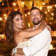 Juliana Paes não mostrou ainda fantasia para o marido, Carlos Eduardo Baptista: 'Está guardando esse segredo como se fosse de Estado'