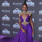 Lupita Nyong'o usa vestido com armadura e penteado escultural em première.Fotos!