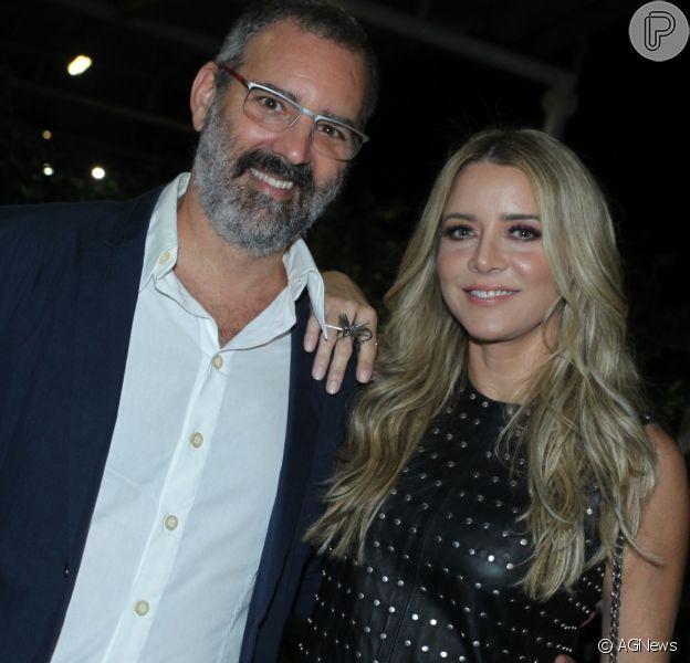 Christine Fernandes e Floriano Peixoto se separam depois de 18 anos juntos