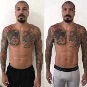 Ex-BBB Fernando Medeiros 'seca' 2kg em 7 dias: 'Sem álcool, açúcar e farinha'