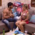 No 'Big Brother Brasil 18', Jéssica e Lucas tiveram uma DR. ' Eu me envolvi, gostei de você, você é uma mina muito gente boa, não tinha como ser diferente, na situação que a gente está', disse o empresário