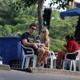 O ator e a assistente de direção da TV Globo se conheceram nos bastidores da emissora