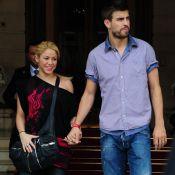 Recém-pais, Shakira e o marido, Gerard Piqué, sopram velinhas neste sábado (2)