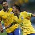 Neymar marcou dois gols e a Seleção Brasileira derrotou a Croácia por 3 x 1 no primeiro jogo da Copa do Mundo 2014, no Brasil, nesta quinta-feira, 12 de junho de 2014