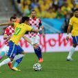 Com dois gols marcados na vitória do Brasil por 3 a 1 sobre a Croácia, Neymar foi eleito o craque da partida pelo voto popular, no site da Fifa