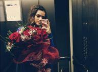 Após declaração de Neymar, Bruna Marquezine ganha buquê de rosas vermelhas