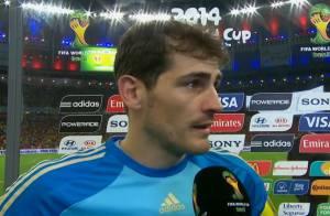 Após eliminação da Espanha na Copa, Iker Casillas desabafa: 'É difícil explicar'