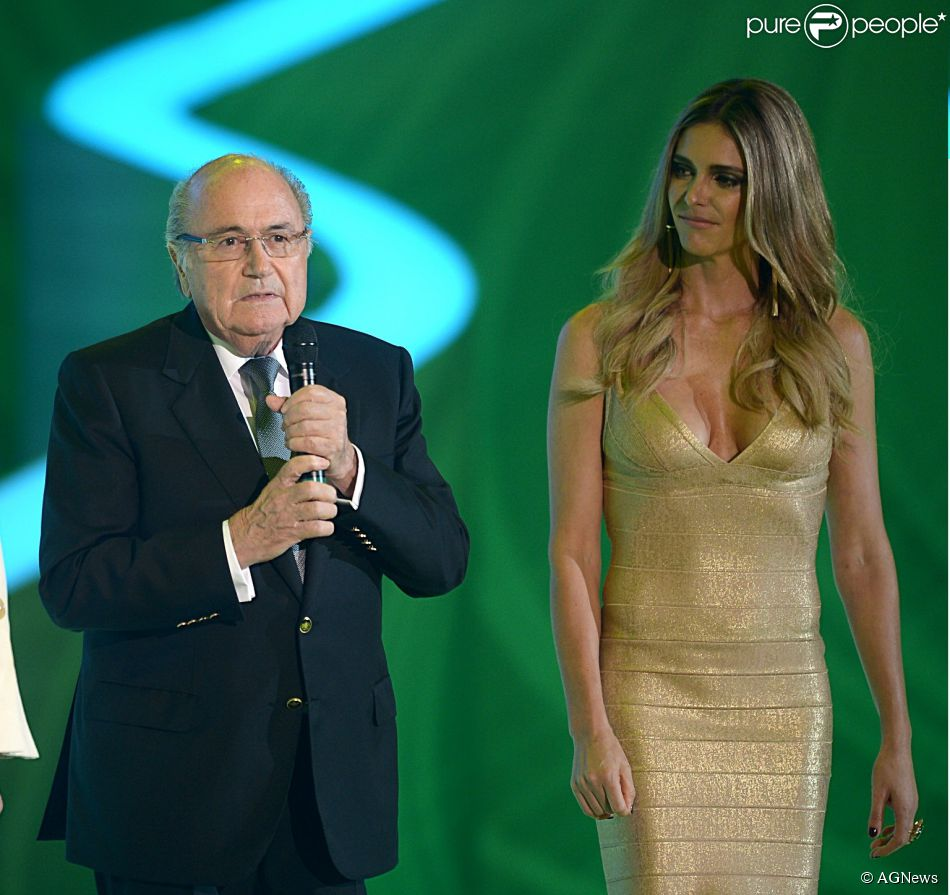 Fernanda Lima e Rodrigo Hilbert convidam Joseph Blatter ...
