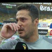 Julio Cesar se emociona após vitória: 'Minha história na Seleção não acabou'