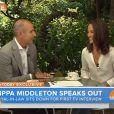 'Para mim, seria apenas eu atuando diante de várias pessoas, mas não do mundo. Foi surreal', afirma Pippa Middleton