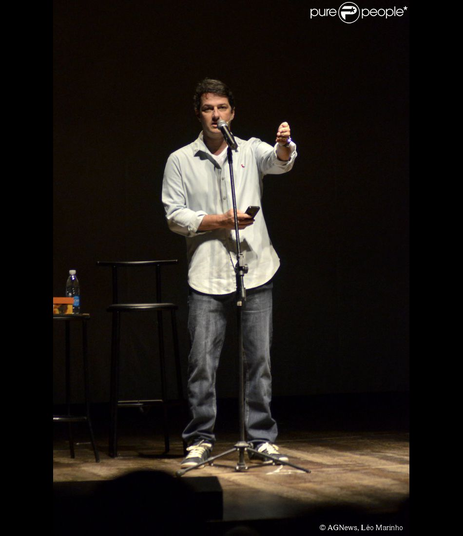 Marcelo Serrado volta aos palcos no teatro com peça 'É o que temos pra hoje' no Rio de Janeiro