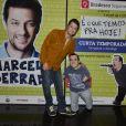 Marcelo Serrado faz peça com o humorista Gigante Léo no Rio