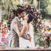 Isis Valverde se casa com André Resende no Rio. Veja vídeos da entrada da noiva!