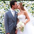 Marina Ruy Barbosa e o marido, Xandinho Negrão, recentemente completaram oito meses de casamento