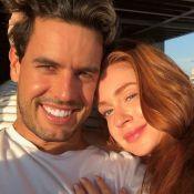 Marina Ruy Barbosa homenageia o marido com música: 'Amor tão grande'