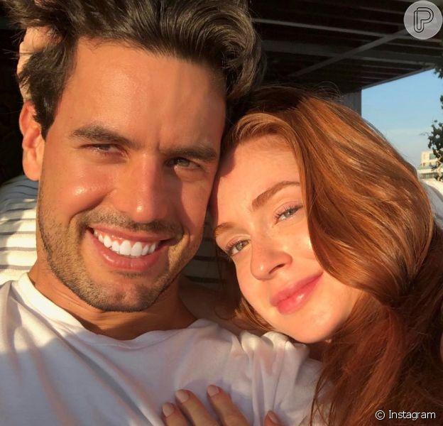 Marina Ruy Barbosa homenageou o marido, Xandinho Negrão, com a música 'Partilhar', da banda Rubel, em seu Instagram, neste domingo, 10 de junho de 2018