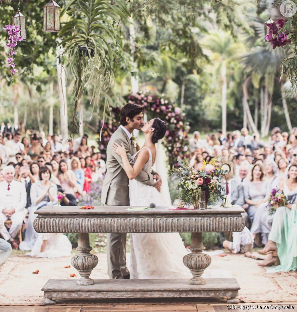 Isis Valverde mostrou novas fotos do casamento com André Resende, em seu Instagram, nesta segunda-feira, 11 de junho de 2018. Veja abaixo!