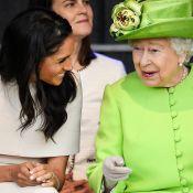 Meghan Markle mostra intimidade com rainha Elizabeth em 1ª viagem oficial. Veja!