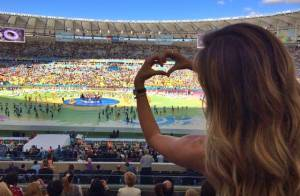 Gisele Bündchen completa 34 anos após brilhar no encerramento da Copa do Mundo