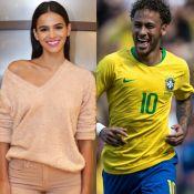 Marquezine torce por namorado, Neymar, antes de jogo do Brasil: 'Vem, hexa'