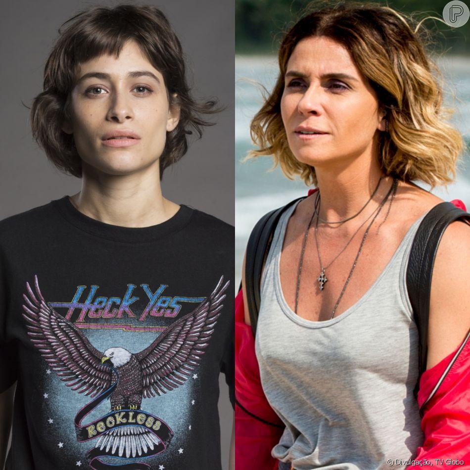 Manu (Luisa Arraes) fica revoltada ao saber que Luzia (Giovanna Antonelli),  sua mãe, se disfarçou de Ariella na novela 'Segundo Sol'