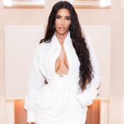 Kim Kardashian abre loja temporária da KKW, sua marca de maquiagens, em LA
