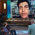 Mateus Solano participa do programa 'Na Moral' ao vivo