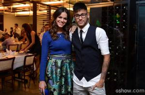 Bruna Marquezine e Neymar assistem juntos ao último capítulo de 'Em Família'