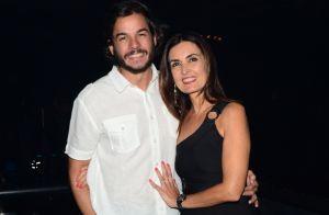 Fátima Bernardes e Túlio Gadêlha usam look caipira moderno em festa. Vídeo!