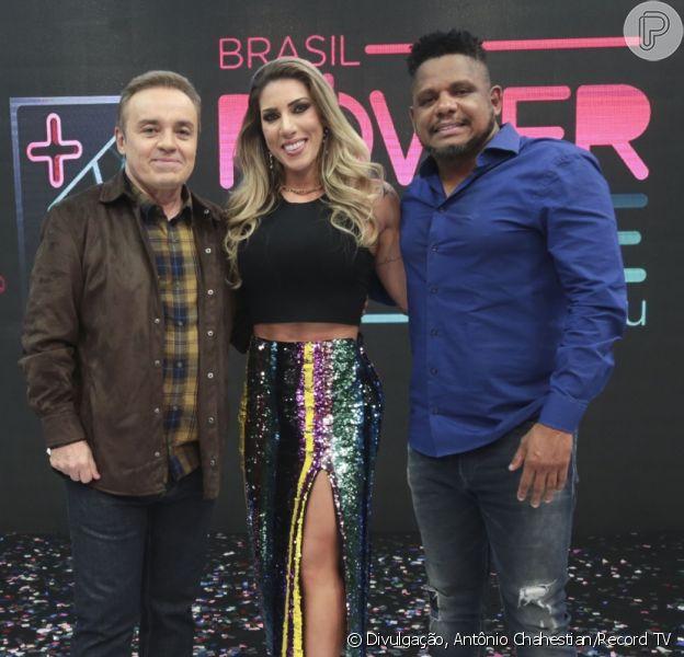 Tati Minerato e Marcelo venceram o 'Power Couple Brasil' com 60,89% dos votos