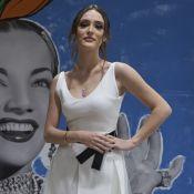 Bailarina de alta-costura: Isabelle Drummond orna look de tule com joias Tiffany