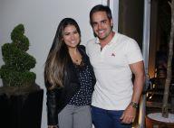 Marido recorda foto de Simone grávida ao torcer pela seleção: 'Pra cima, Brasil'