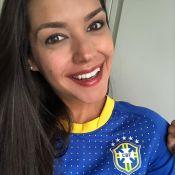 Thais Fersoza reúne amigos antes de viagem de Michel Teló: 'Vai, Brasil!'