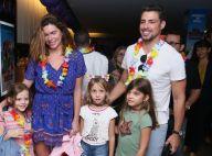 Cauã Reymond e namorada levam Sofia em pré-estreia com filhos de Fernanda Lima