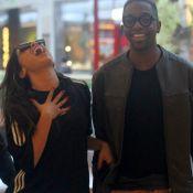 'Show dos Famosos': homenageada por Naiara Azevedo, Anitta torce por Mumuzinho