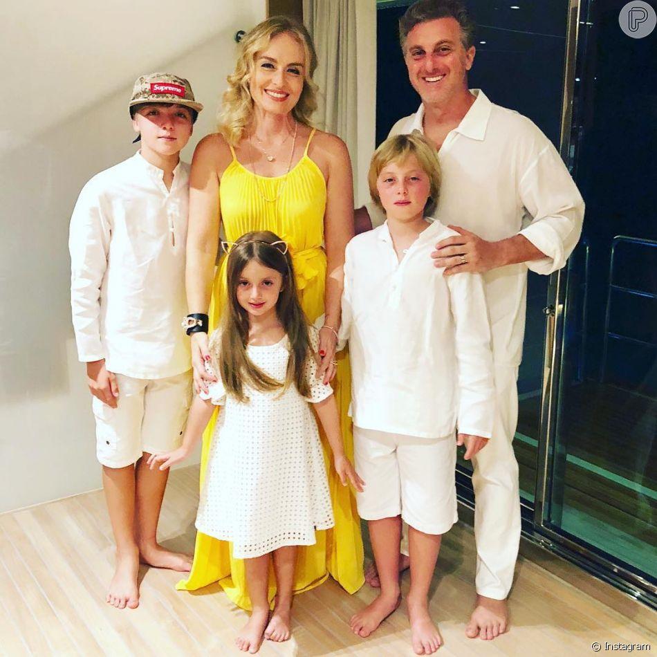 Luciano Huck mostrou vídeos da viagem com a família ao Havaí, em seu Instagram, nesta quarta-feira, 11 de julho de 2018