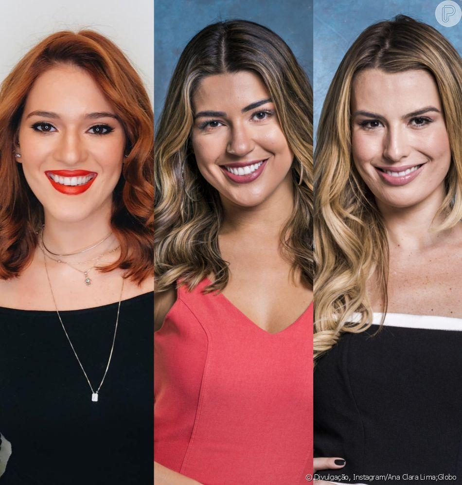 'Vídeo Show': Ana Clara é nova repórter; Vivian e Keulla viram apresentadoras, conforme comunicado da Globo nesta quinta-feira, dia 12 de julho de 2018